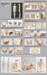 FaCo Doll body modifications - tutorial by scargeear