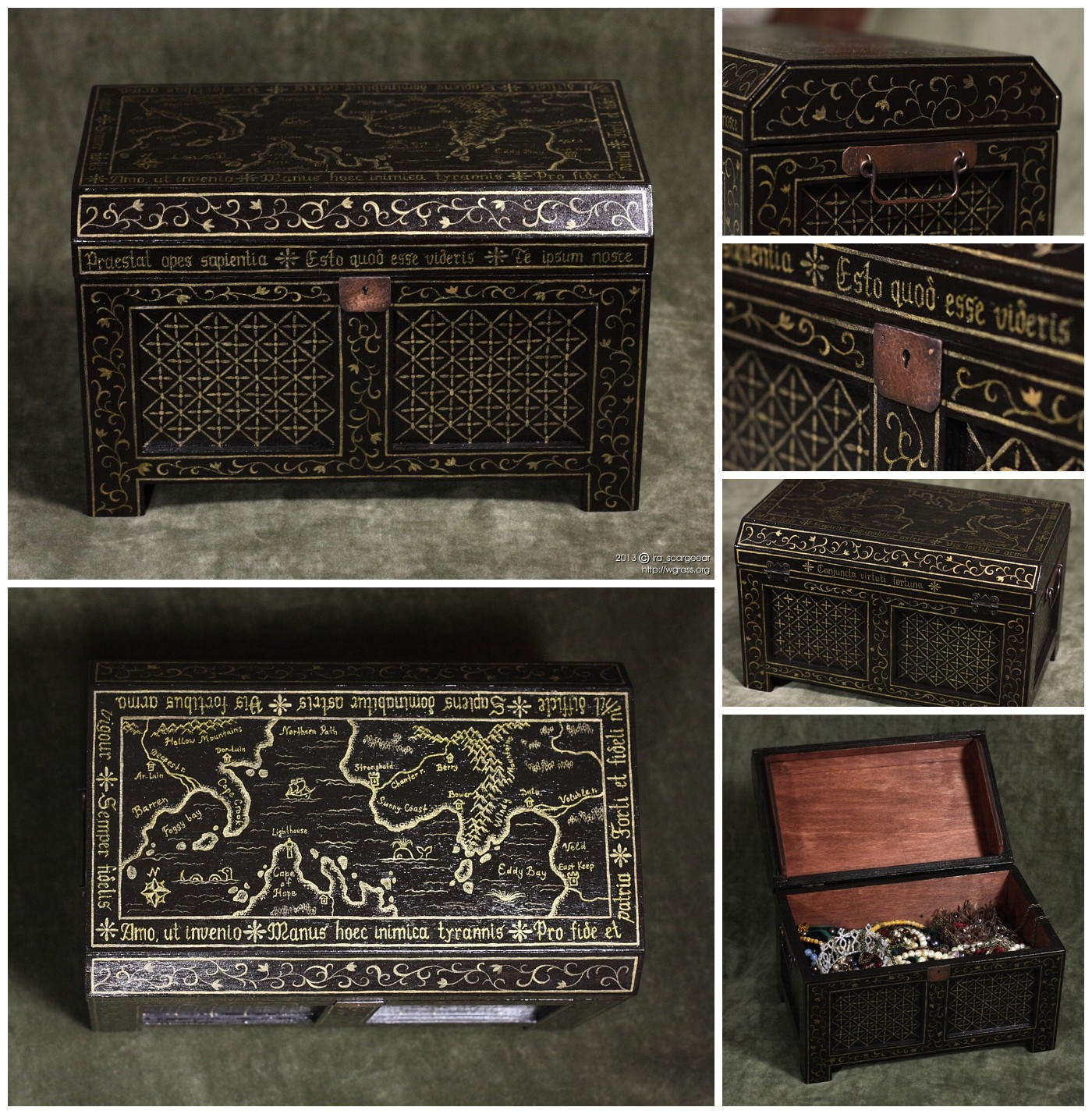 Treasure chest by scargeear