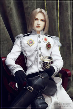 Sephiroth in a full parade