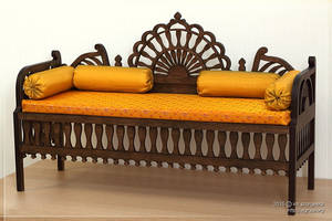 Moroccan Sofa for BJD 1/3 by scargeear