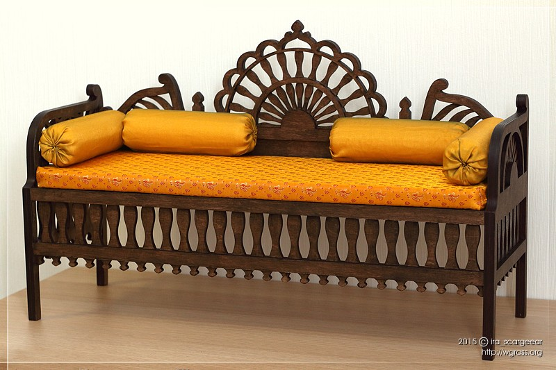 Moroccan Sofa for BJD 1/3