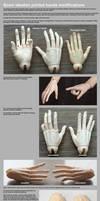 Soom Idealian Hands modifications by scargeear