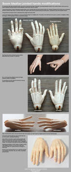 Soom Idealian Hands modifications by scargeear