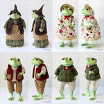 Clothes for Mr. and Mrs. Ropuha Toads