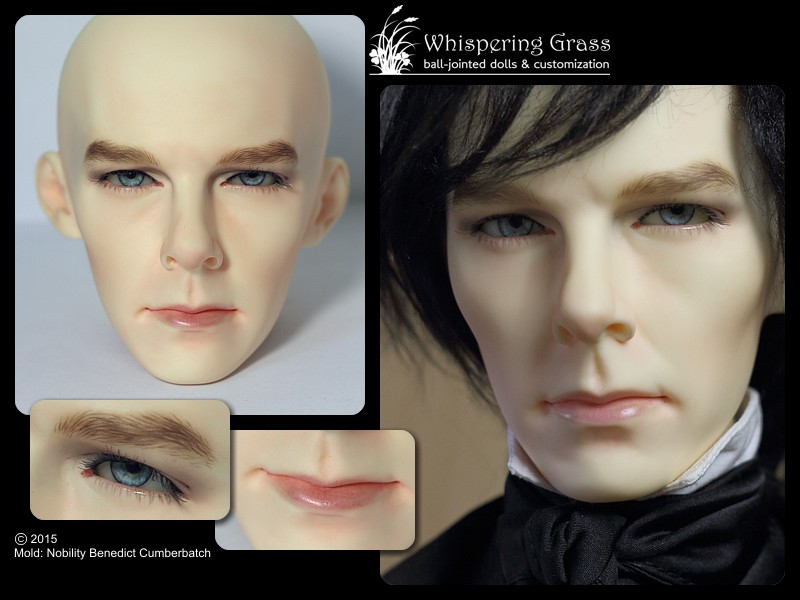 Nobility Benedict Cumberbatch faceup by scargeear