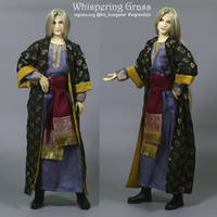 Commission outfit for BJD in Arabian style by scargeear