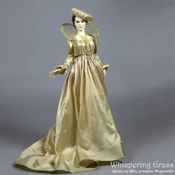 Creamy White Renaissance dress