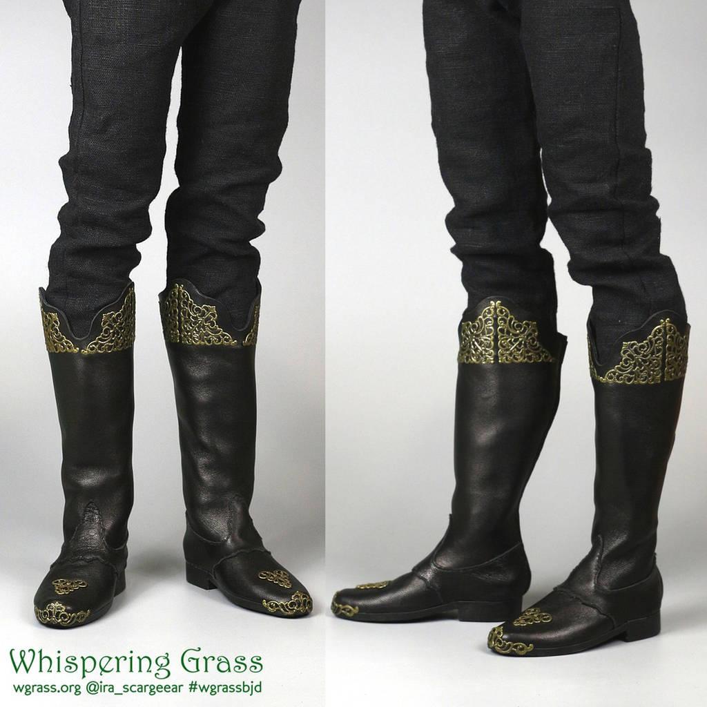 BJD magician boots by scargeear