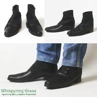 BJD Victorian Male Shoes by scargeear