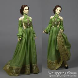 Green BJD Romantic/Fantasy Outfit