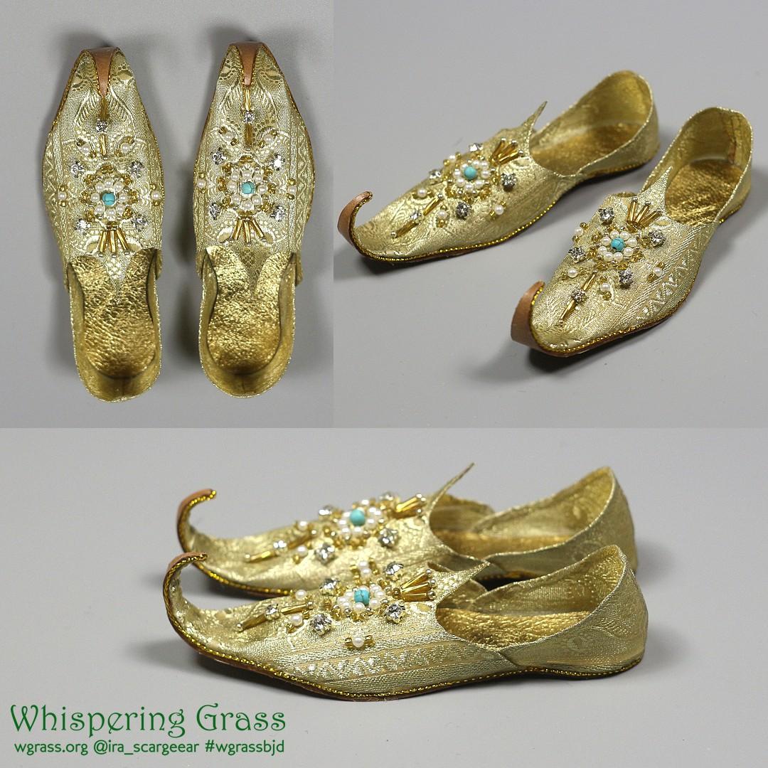 BJD Khussas Aladdin slippers by scargeear