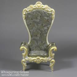 Rococo BJD armchair for MSD dolls