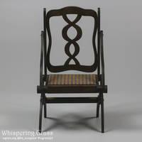 Foldable Art Nouveau Armchair by scargeear
