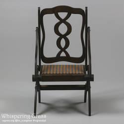 Foldable Art Nouveau Armchair