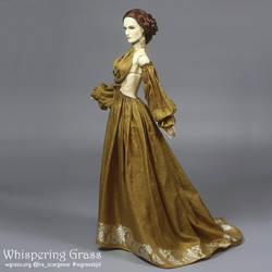 Golden Sari Dress