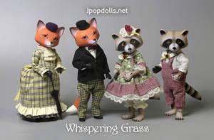 Khitrula Fox and Raccoon Smuzhka by scargeear