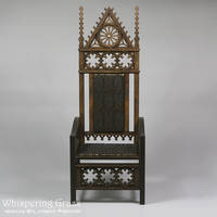 BJD Gothic Demountable Doll Throne