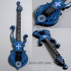 Mana's 'ESP' guitar for BJD doll