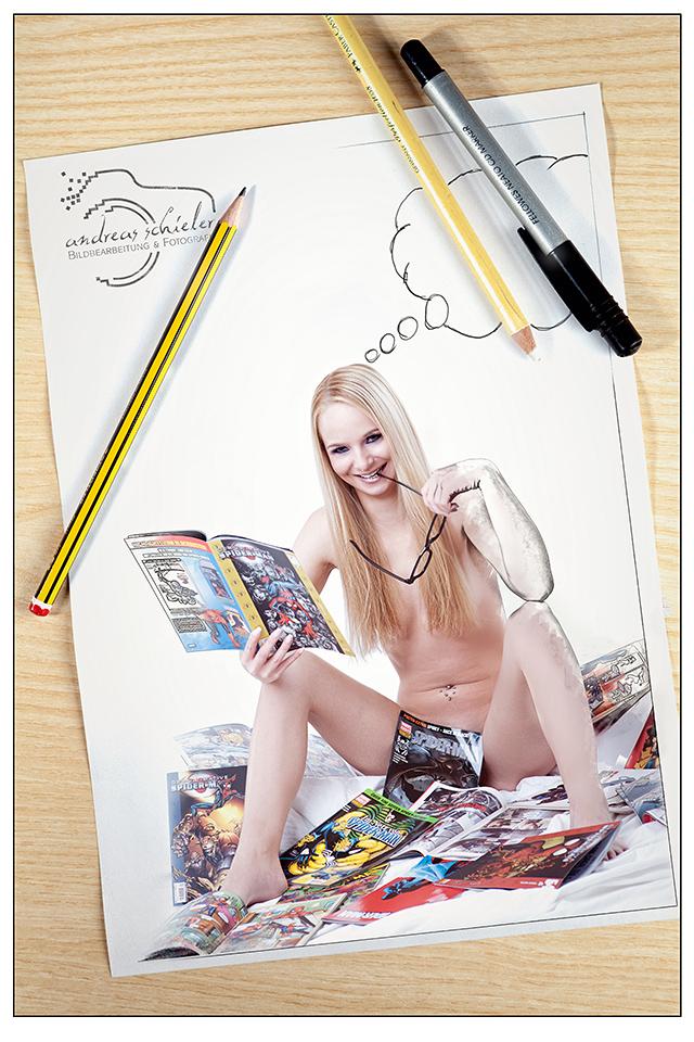 My Comicgirl by schia025