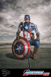 The First Avenger- Captain America Live by schia025