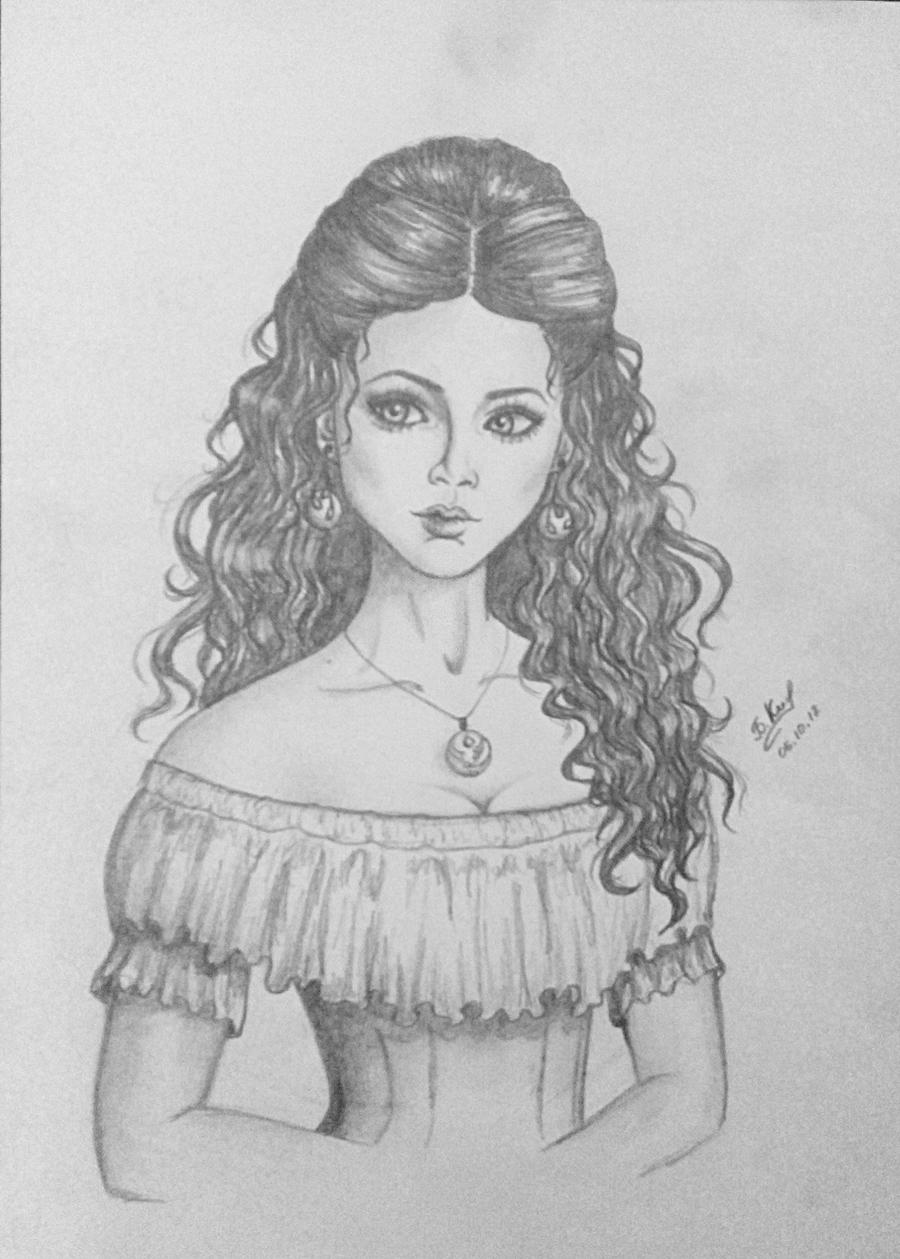 The Girl Of Middle Ages By Sunriserain On Deviantart