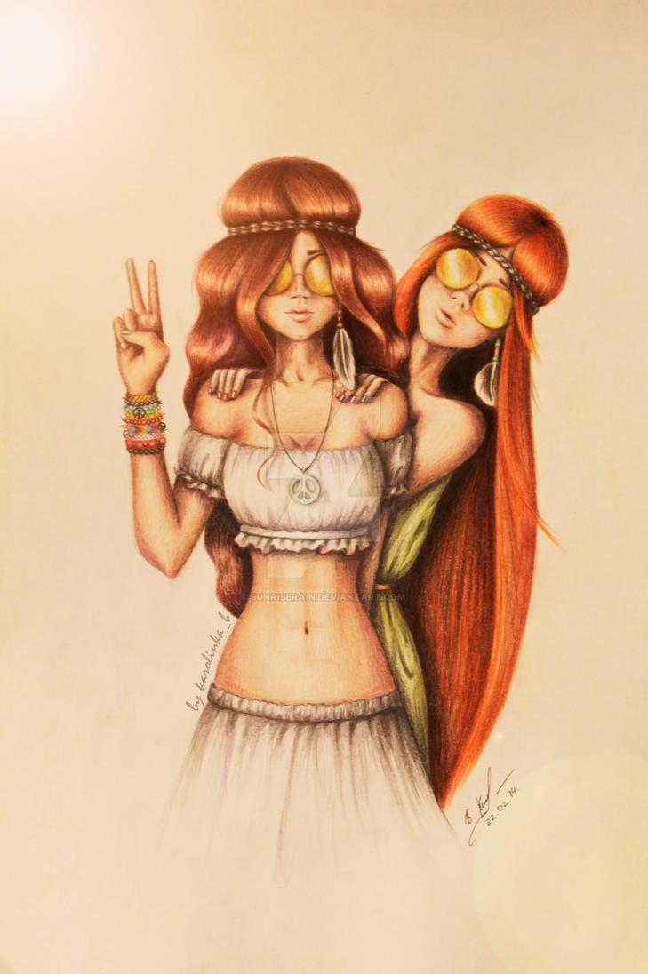 Hippies by SunriseRain