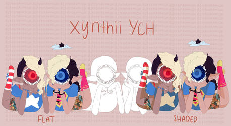 Xynthii YCH // Best Friends // Paypal + Points