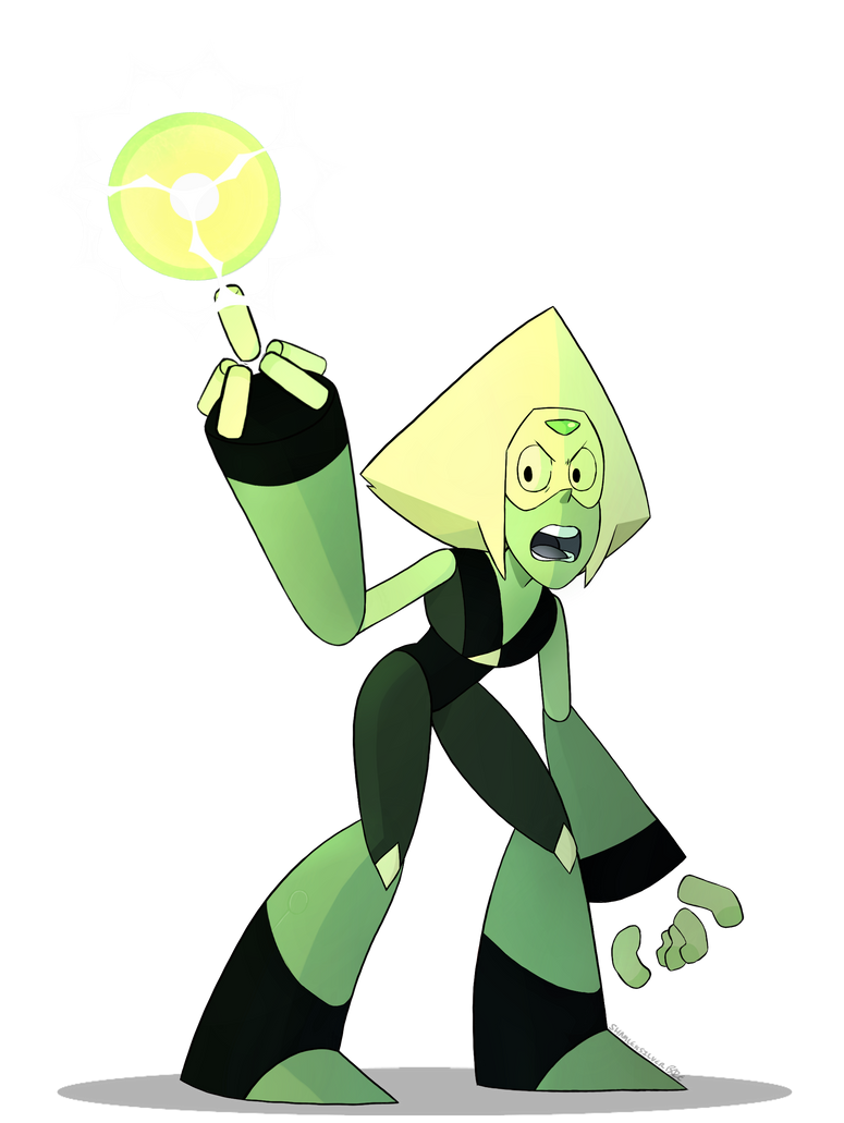 A simple Peridot drawing, I've been rewatching season 2 of Steven Universe and it's suprising to see how much Peridot has changed. It's really fun to draw her in her limb enhancers, but I'm glad sh...
