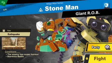 Stone Man Spirit battle idea