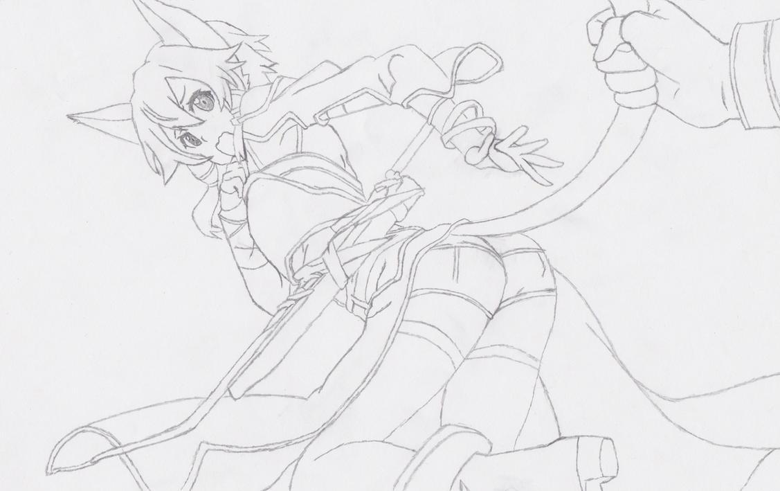 Sword Art Online II Cat Sinon By Insanja On DeviantArt