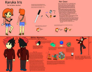 Dreamcatcher App: Akito and Karuka