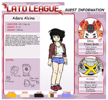 Lato league Guest: Adara Alcina