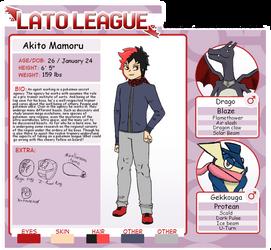 Lato League Guest: Akito Mamoru