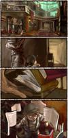 Librarian by MARYMARU