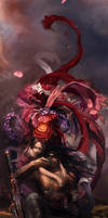 Red and Black by MARYMARU