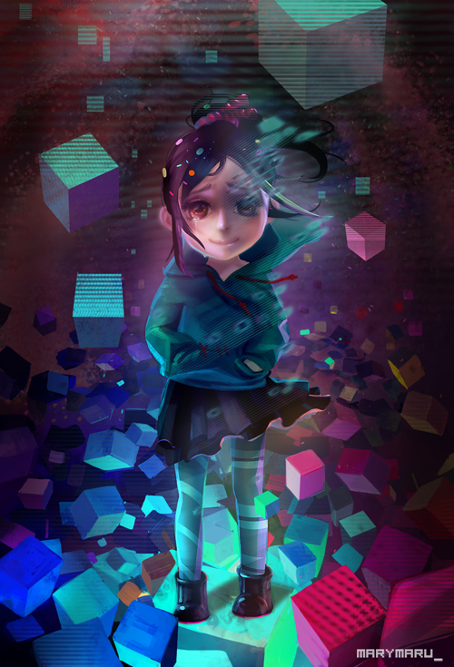 Wreck-It Ralph  Vanellope s bad end by MARYMARUWreck It Ralph Vanellope Sad
