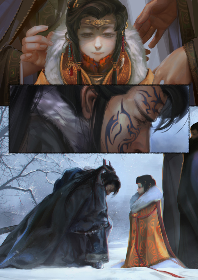 Swear Fealty to the King by MARYMARU