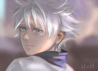 HUNTER x HUNTER -Killua by MARYMARU