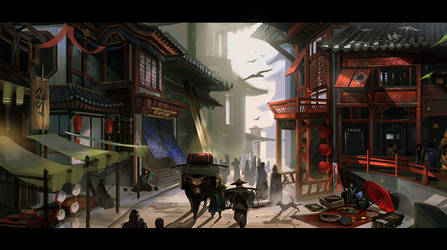 street by MARYMARU