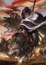 King Wolf by MARYMARU
