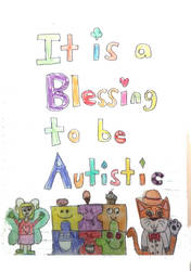 It's a Blessing to be Autistic Poster