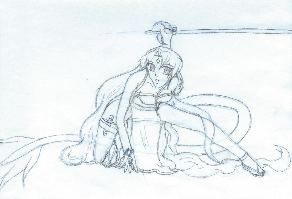Battle Star Sketch by StarSubeki