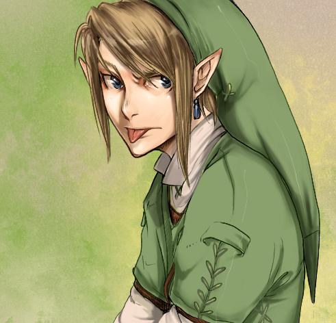 Link by crocroar