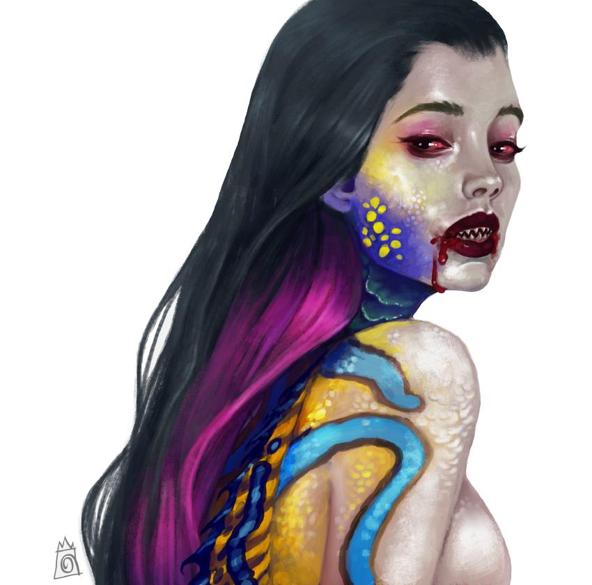 Mermaid by crocroar