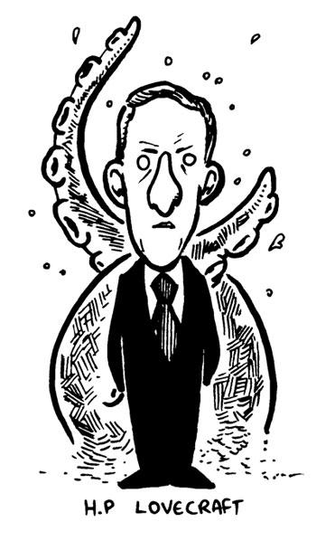 Lovecraft by RichardTingley