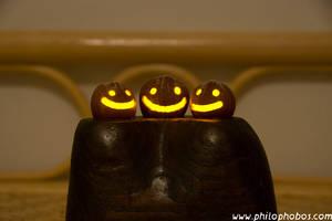 chipmunk halloween III by Philophobos