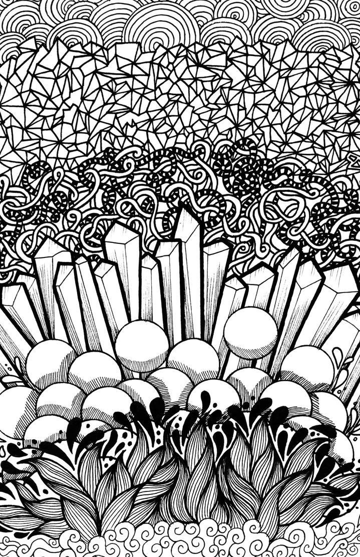 Psychdelic Textures by hannahcardoso
