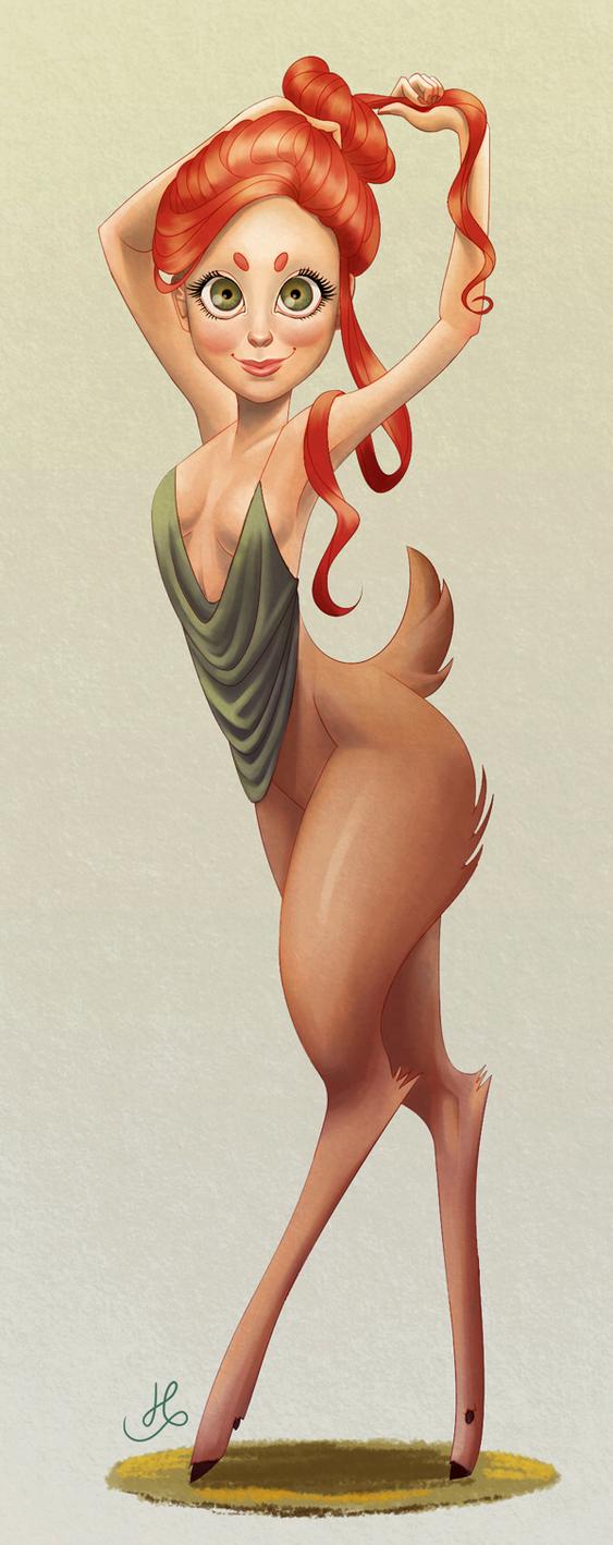 Fawn by hannahcardoso