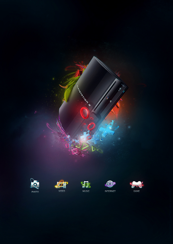 Playstation 3 by mOsk