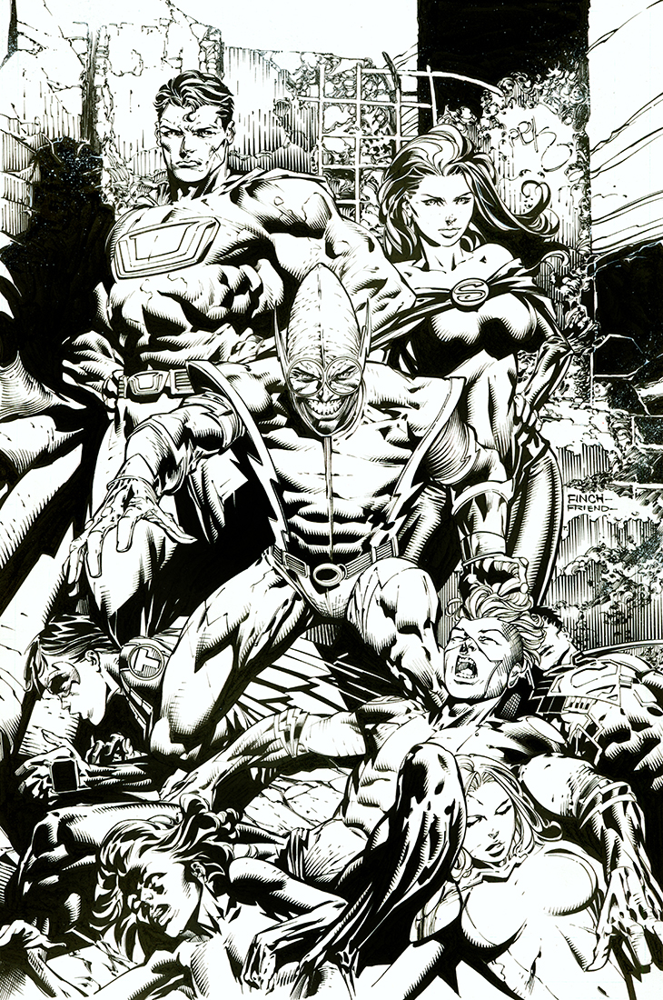 Forever Evil 2 Cover David Finch Richard Friend by Blasterkid